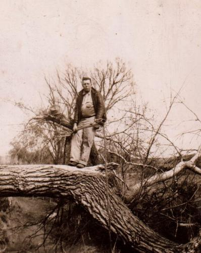 Lester's dad Leroy Moore 1944-2