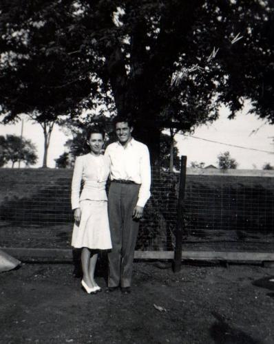 Bea & Lester Moore 1944-7