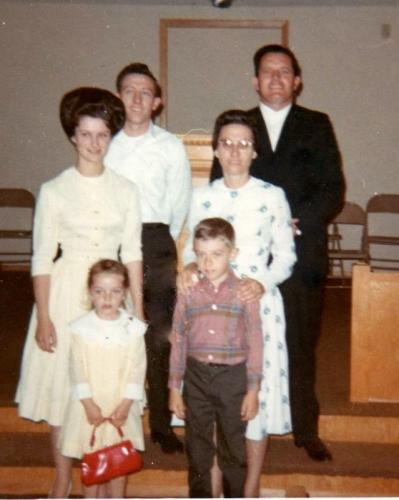 Church in Florida where David & Charlene pastored. 1970-2