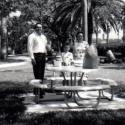 Cooking Breakfast, Galveston, Texas 1970-3
