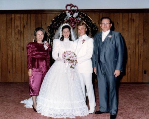 Bea, Becky, Gerald, & Lester 1988-5