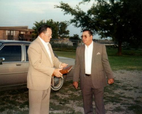 Lester & Donald Dunkin Moore, Ok Church 1988-6
